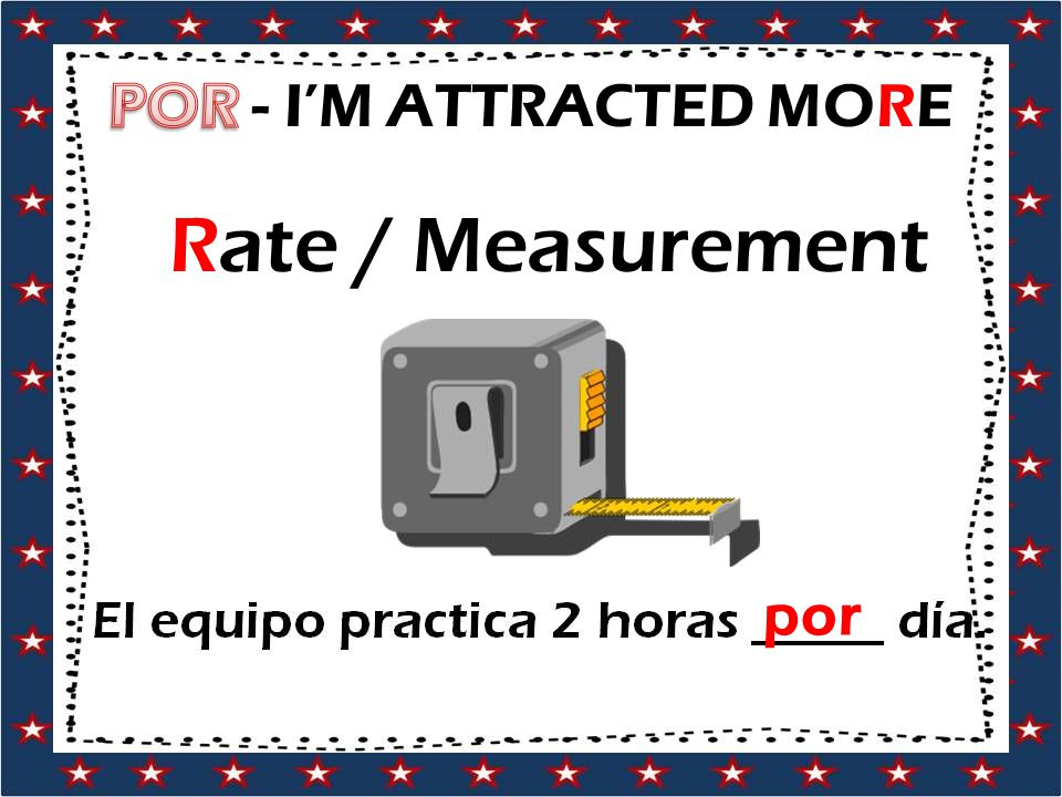 Rate / Measurement por