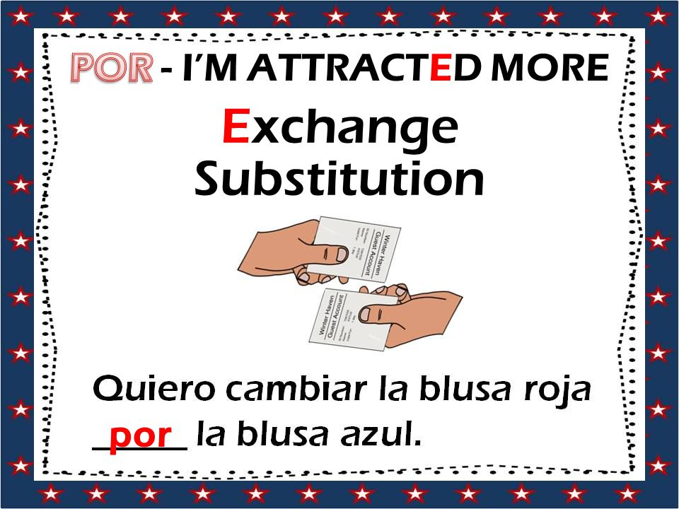 Exchange Substitution por