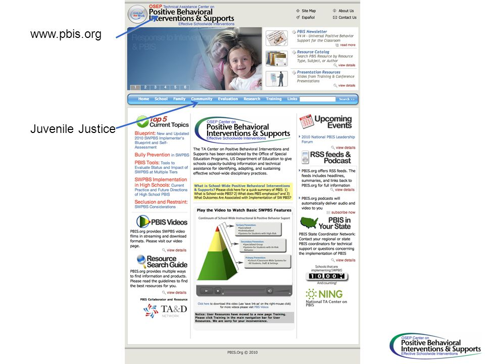 www.pbis.org Juvenile Justice 47