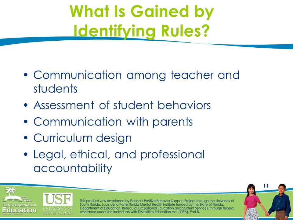 11 What Is Gained by Identifying Rules.