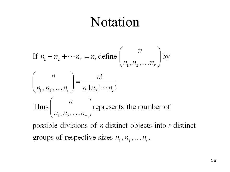 Notation 36
