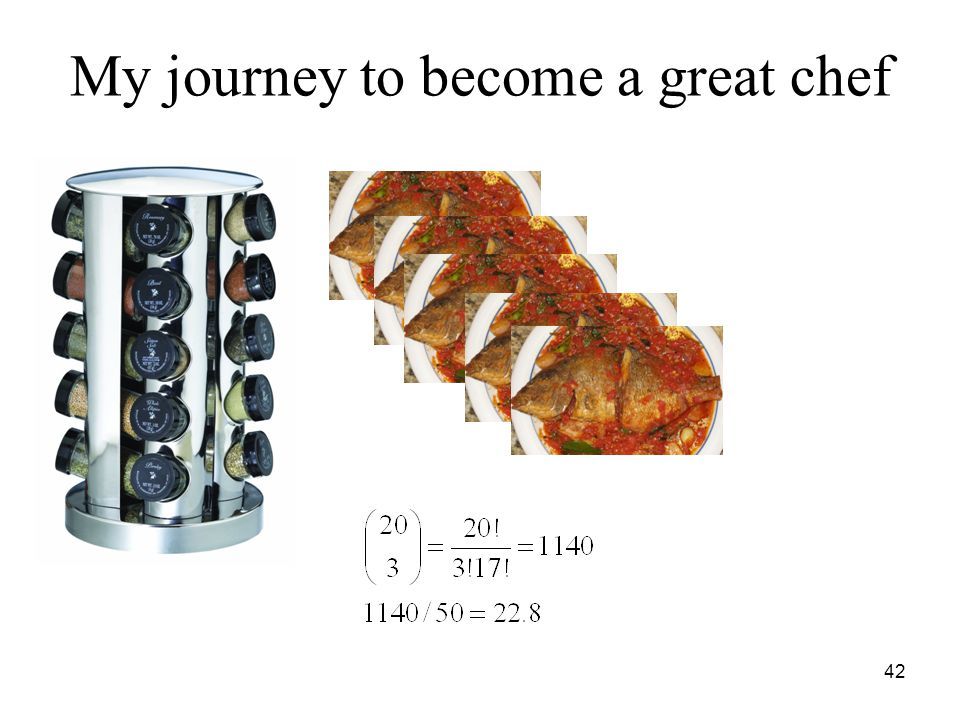 My journey to become a great chef 42