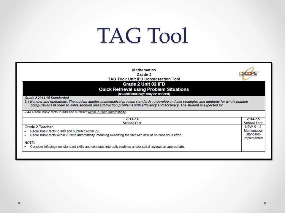 TAG Tool