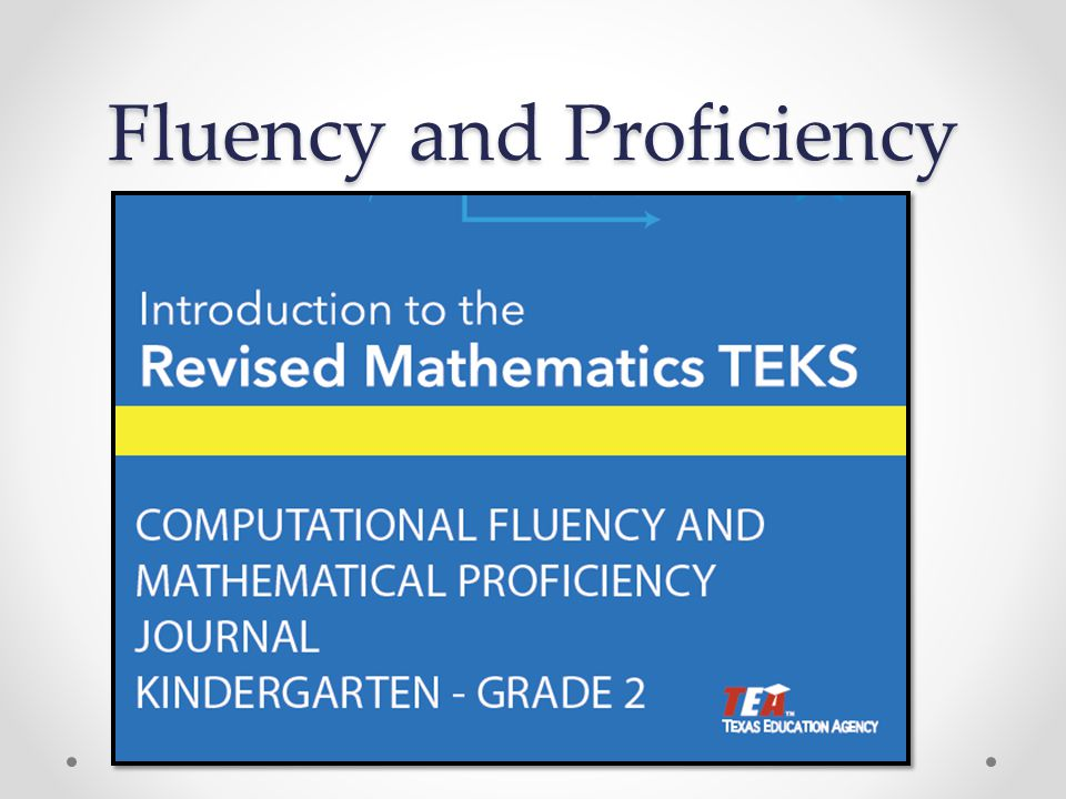 Fluency and Proficiency