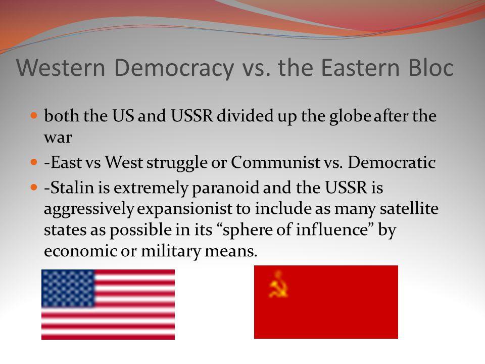 Western Democracy vs.