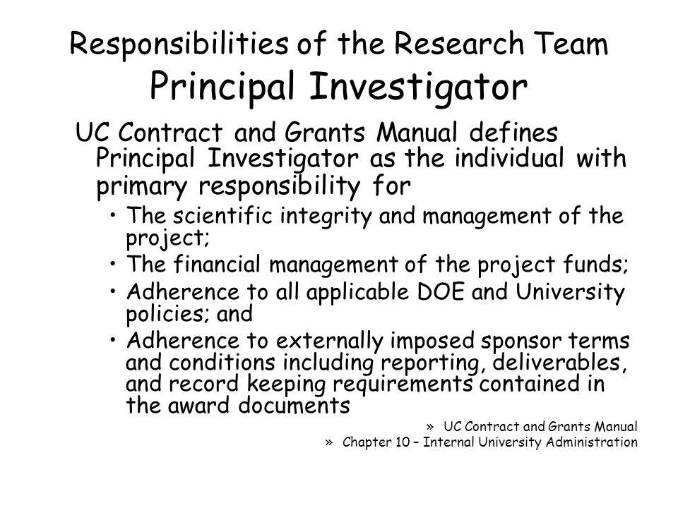 Award Management Report