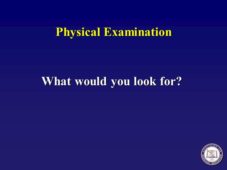 Physical Examination, Mrs.