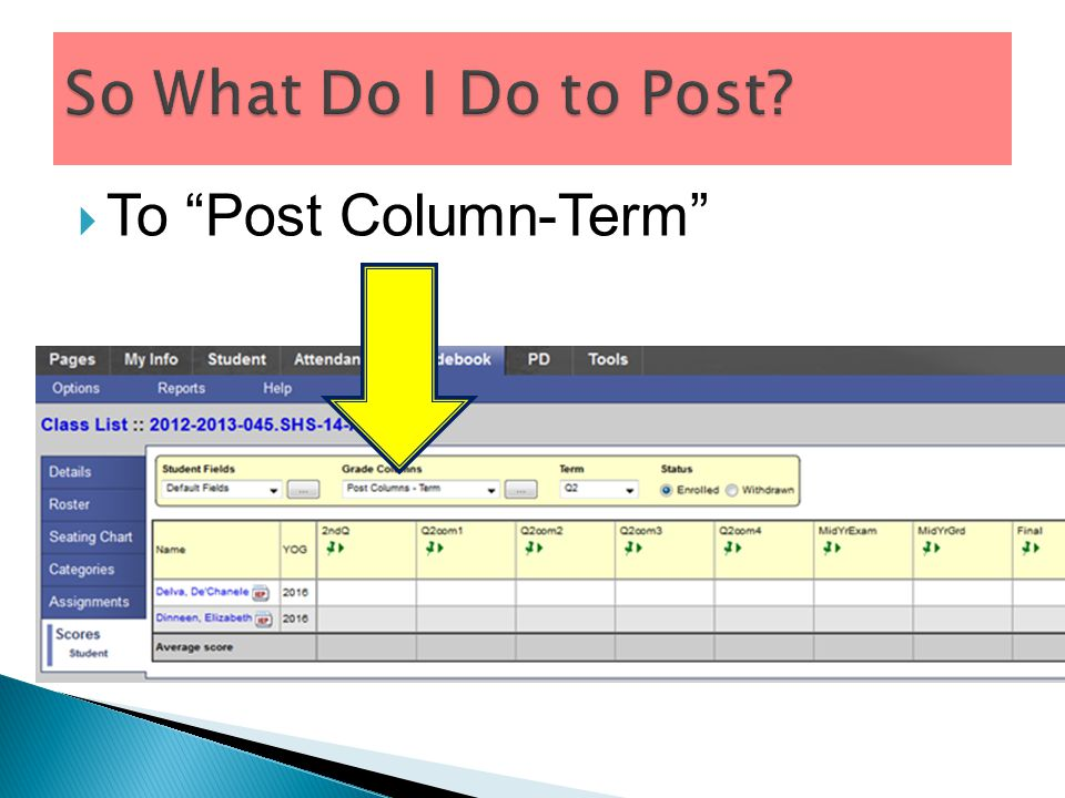  To Post Column-Term