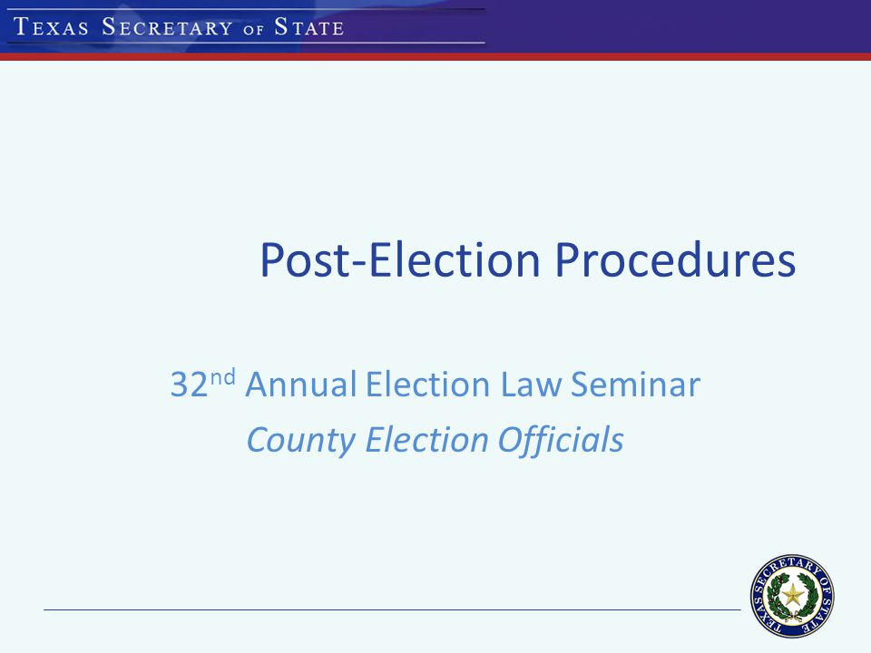 Certificate of Elections Candidate's Name; Office to which the candidate is elected; Statement that the candidate has been elected to an unexpired term, if applicable; Date of the election; Signature of the officer preparing the certificate; & Seal by the officer preparing the certificate.