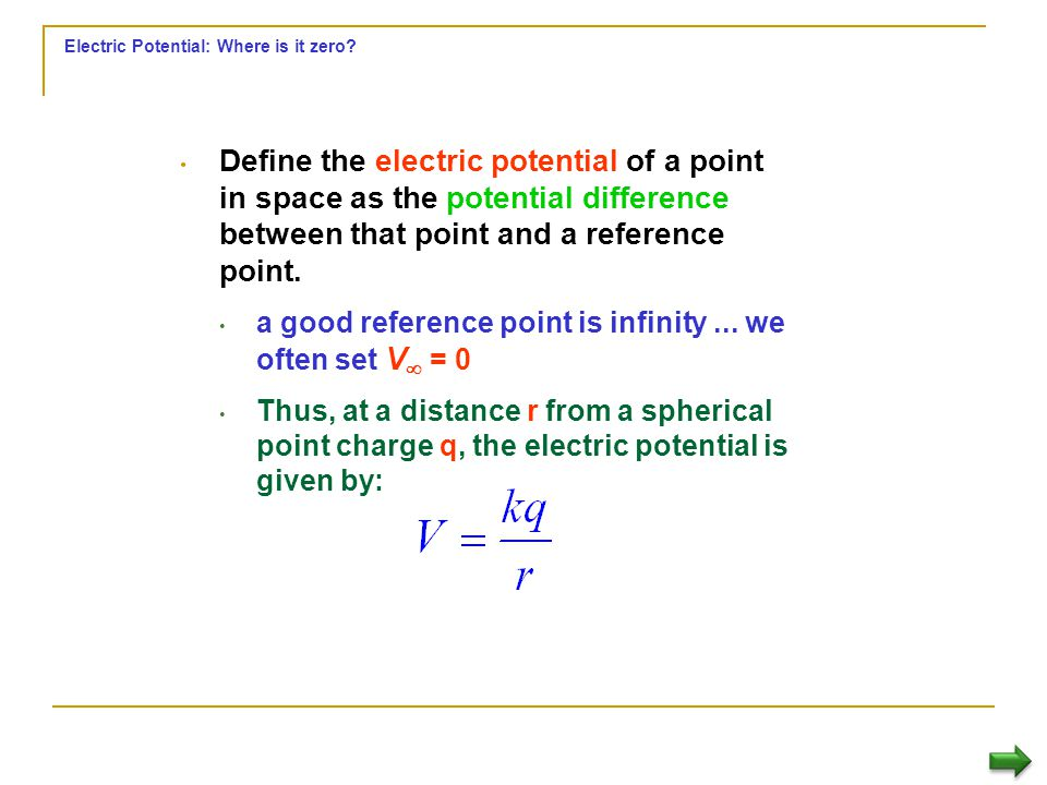 Electric potential Question A direct calculation of the work done to move a positive charge from point A to point B is not easy. Neither the magnitude
