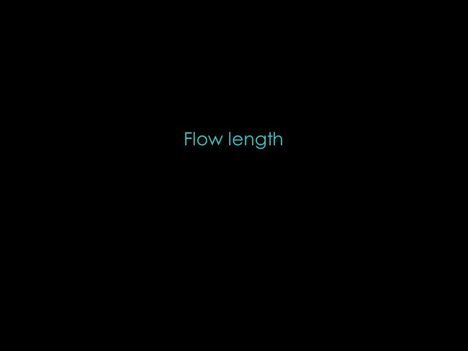 Flow length
