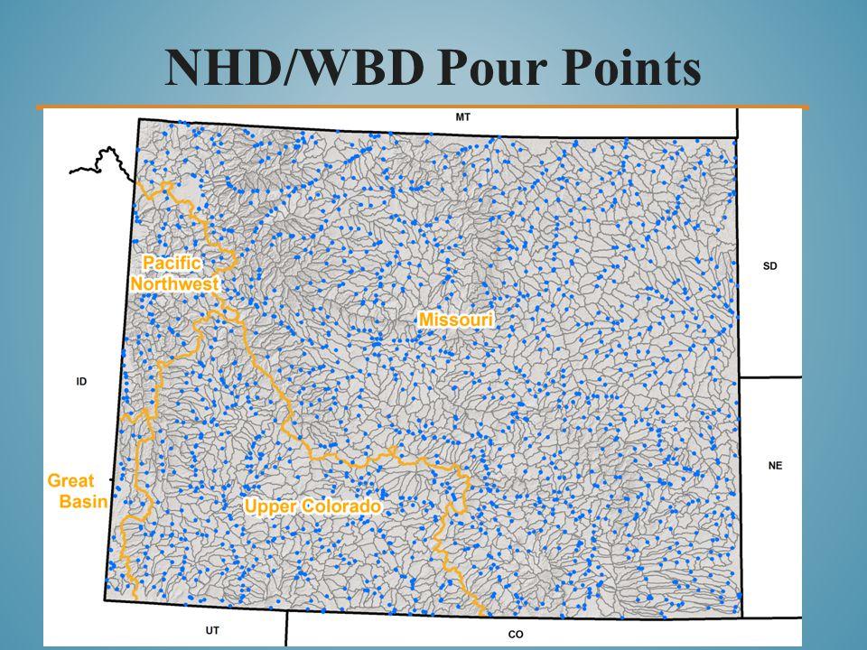 NHD/WBD Pour Points