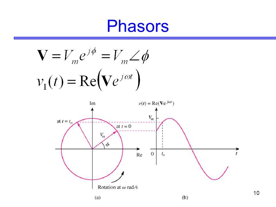 10 Phasors
