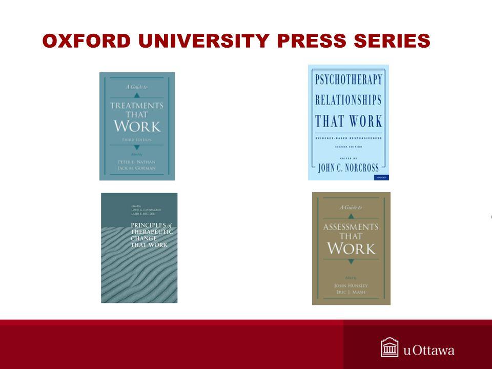 OXFORD UNIVERSITY PRESS SERIES