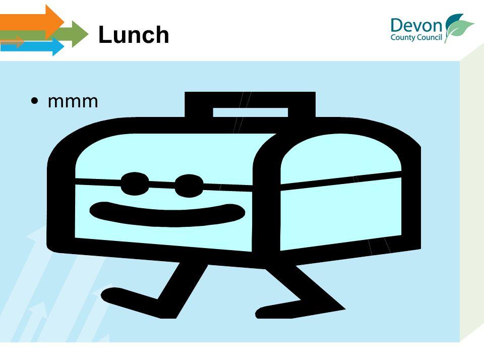Lunch mmm