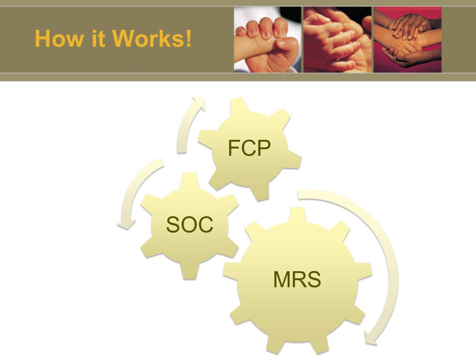 How it Works! MRS SOC FCP