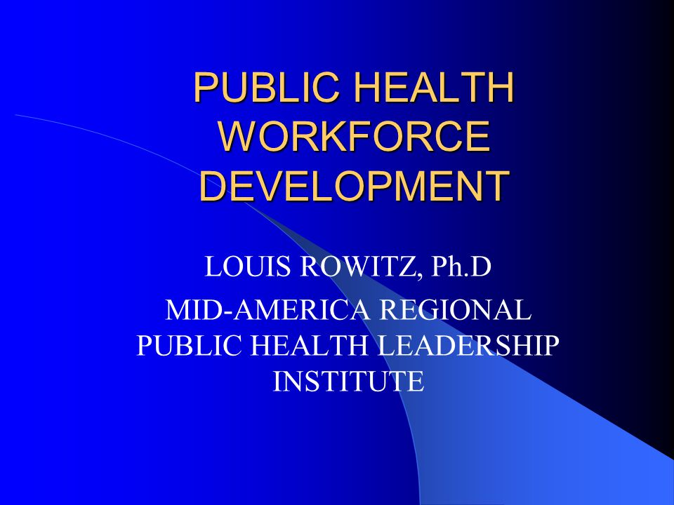 Distance Learning (2) Develop agency expertise in DL Provide access to information about public health DL programs Organize a mechanism for pooling and accessing resources and expertise on DL across all of public health