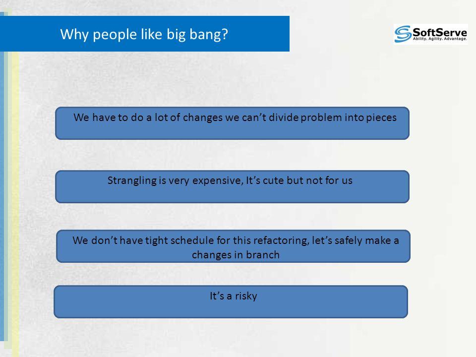 Why people like big bang.