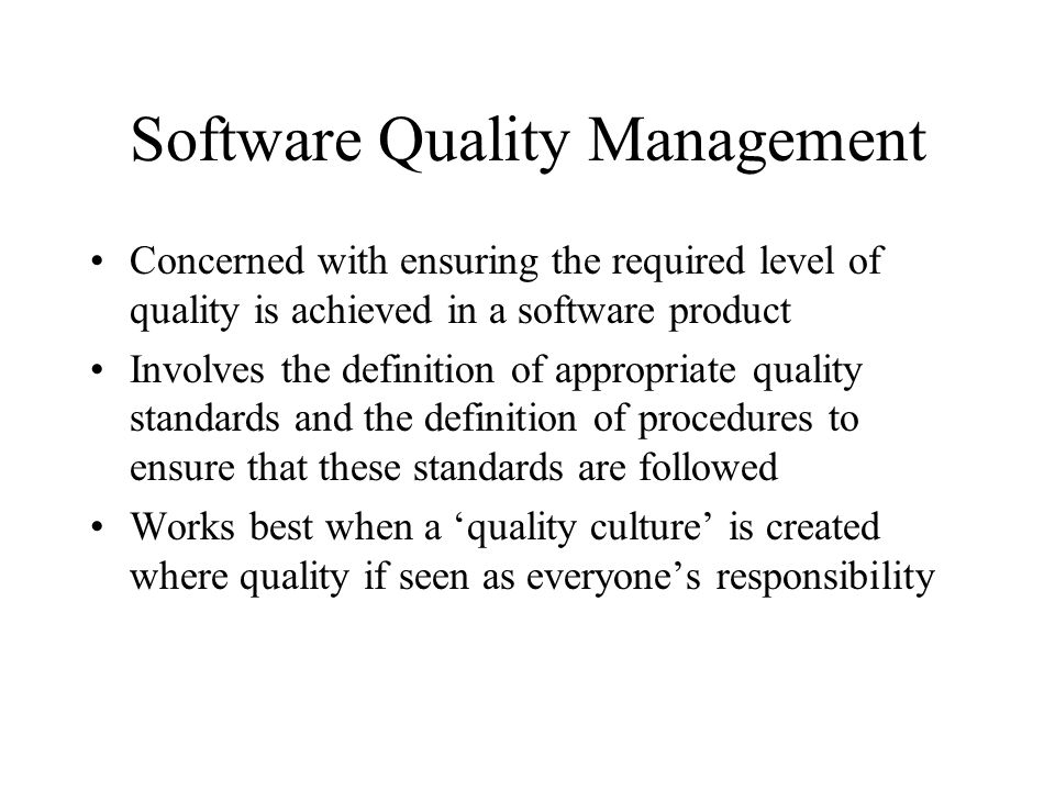 Measurement Surprise Reducing the number of faults in a program may lead to an increased number of help desk class Program is now perceived as more reliable and may have a wider market (a lower percentage of calls may net a larger number of calls) People are less willing to work around faults in a system that has a reputation for reliability and this may lead to more calls for help