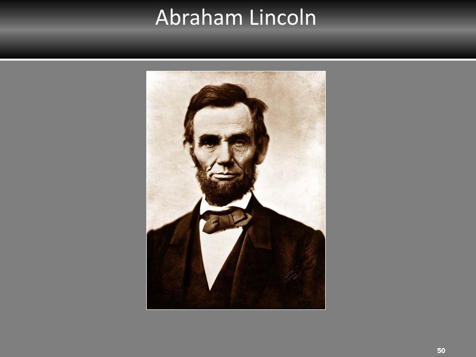 Abraham Lincoln 50
