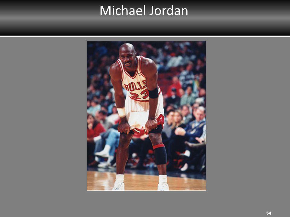 Michael Jordan 54