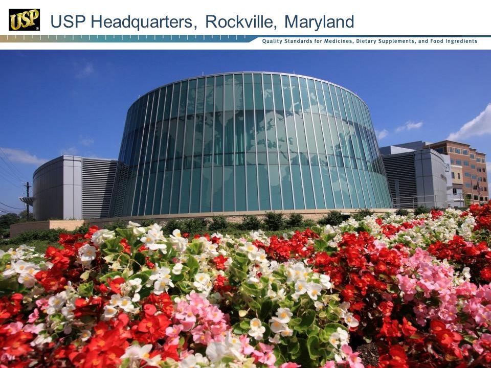 USP Headquarters, Rockville, Maryland