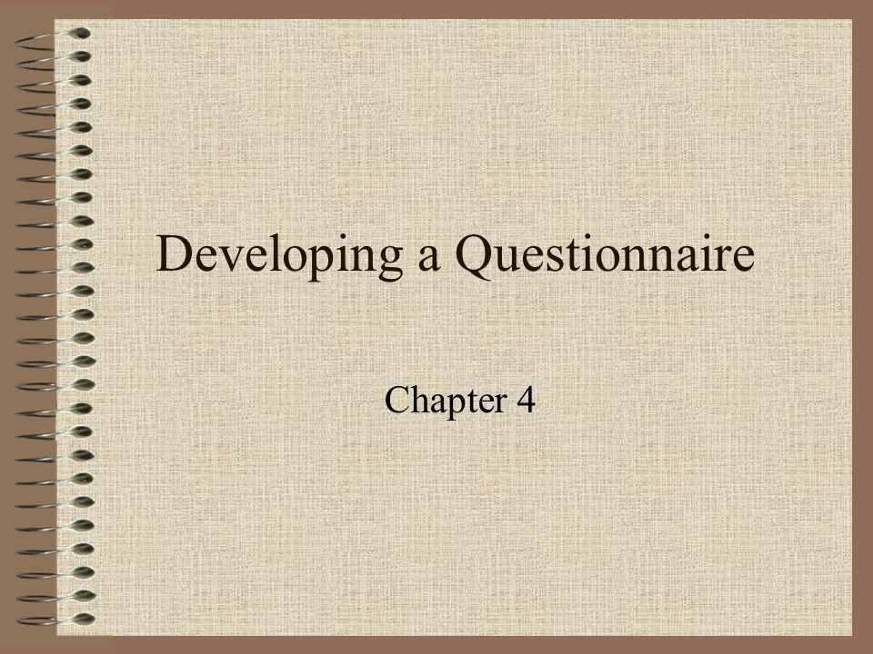 Types of Questions Open-ended –high validity, low manipulative quality Closed-ended –low validity, high manipulative quality
