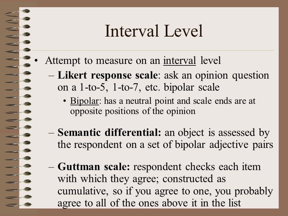 Recalling Behavior Can be difficult to remember Ask questions that can be answered Choose time frames that are reasonable Pilot test for time frame issues
