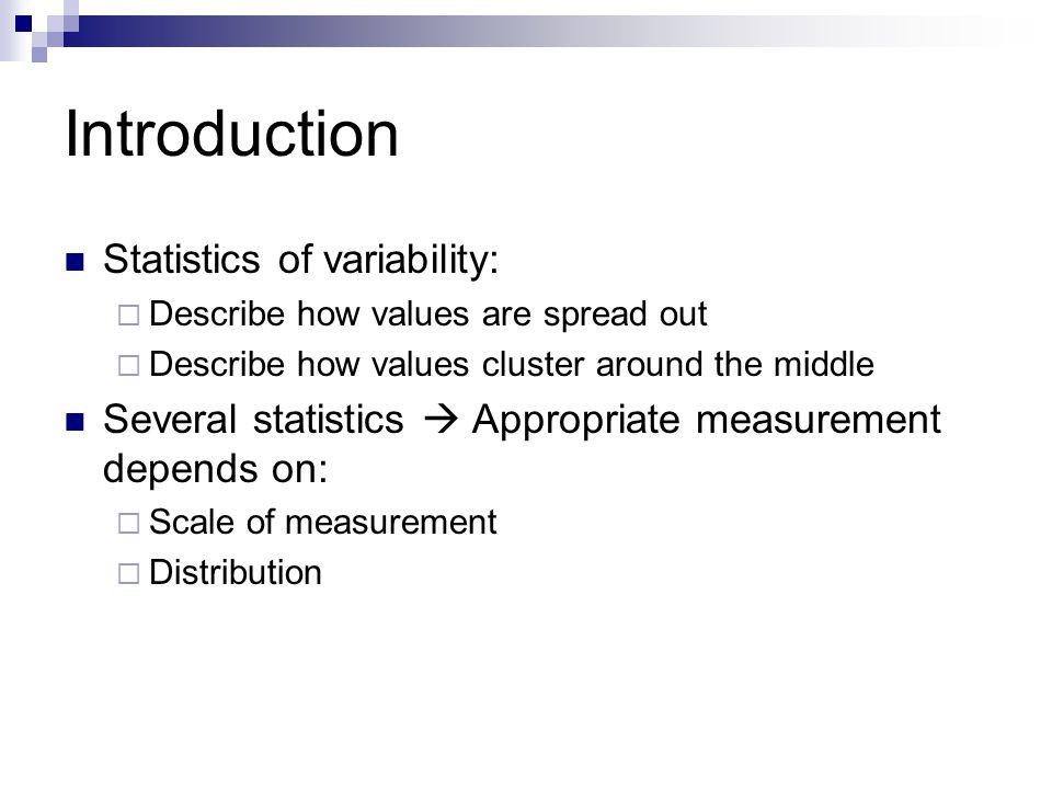 Computation of the Standard Deviation of Sample  Instat Statistics tab Summary tab Describe tab  Calculates standard deviation automatically  OK