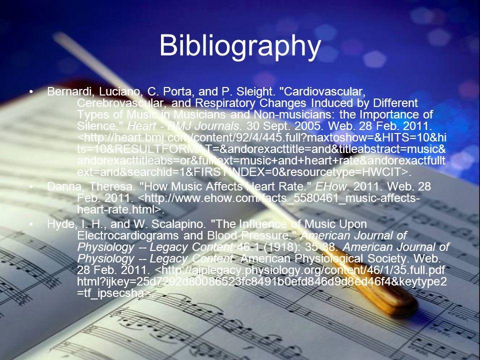 Bibliography Bernardi, Luciano, C. Porta, and P. Sleight.