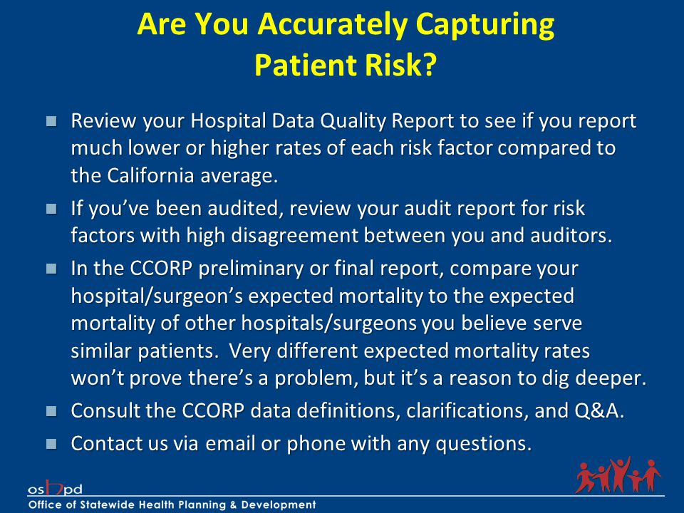 Are You Accurately Capturing Patient Risk.