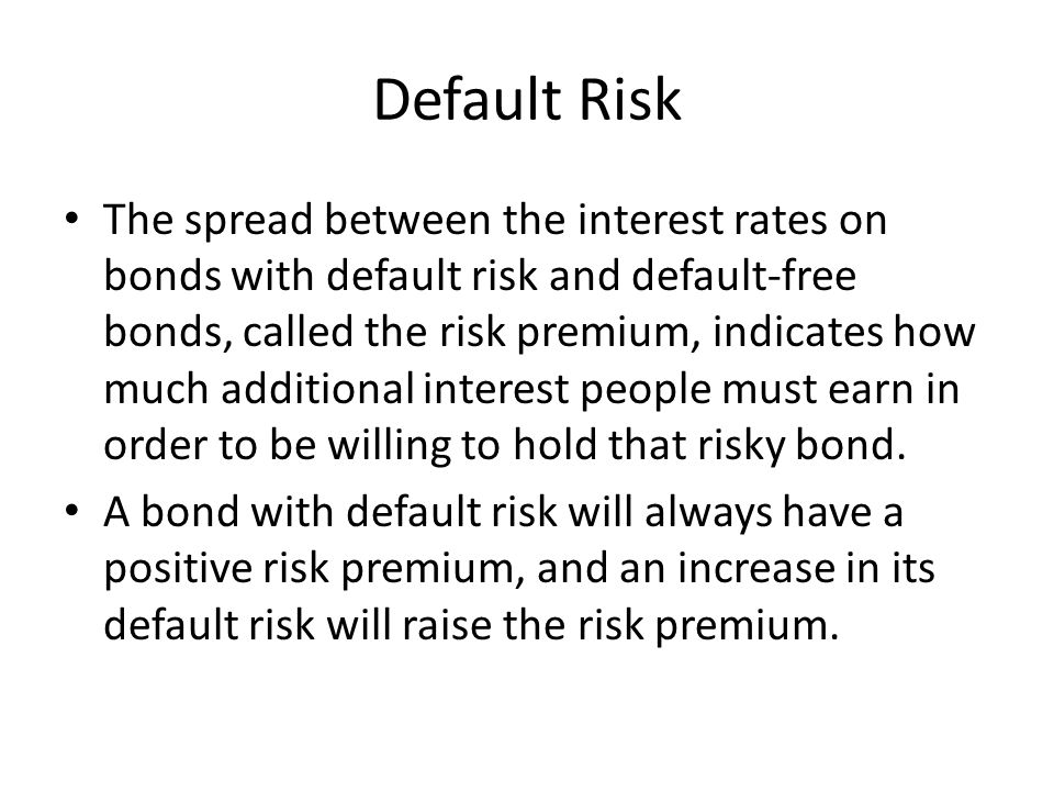 Credit Rating Agencies These companies rate securities according to how likely they are viewed to default.