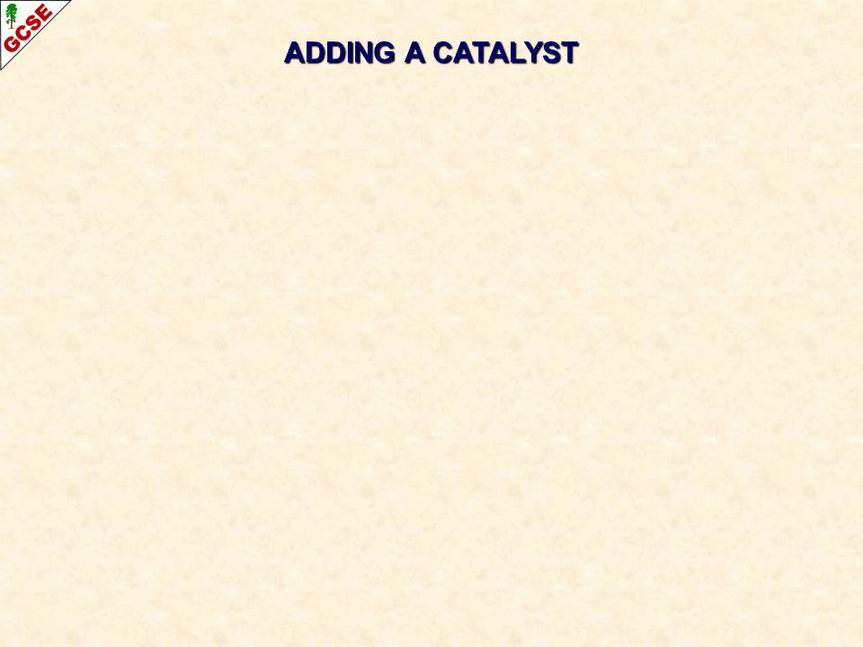 ADDING A CATALYST