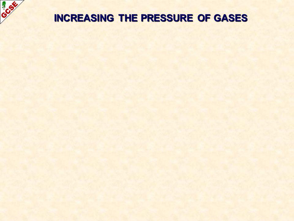 INCREASING THE PRESSURE OF GASES
