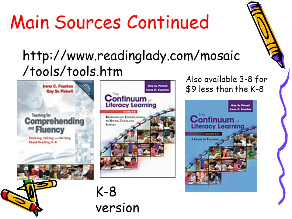 Scholastic materials that support guided reading are:  Guided Reading Books  EOY Goals: 3 rd gr.