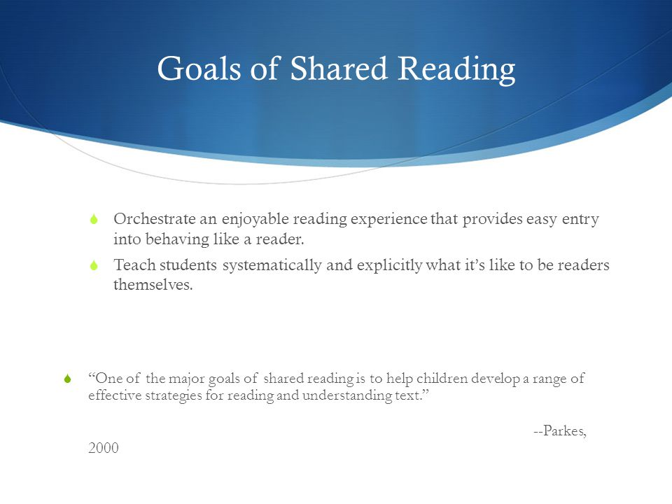 Shared Reading in Literacy By Design  LBD honors the gradual release model of reading instruction.