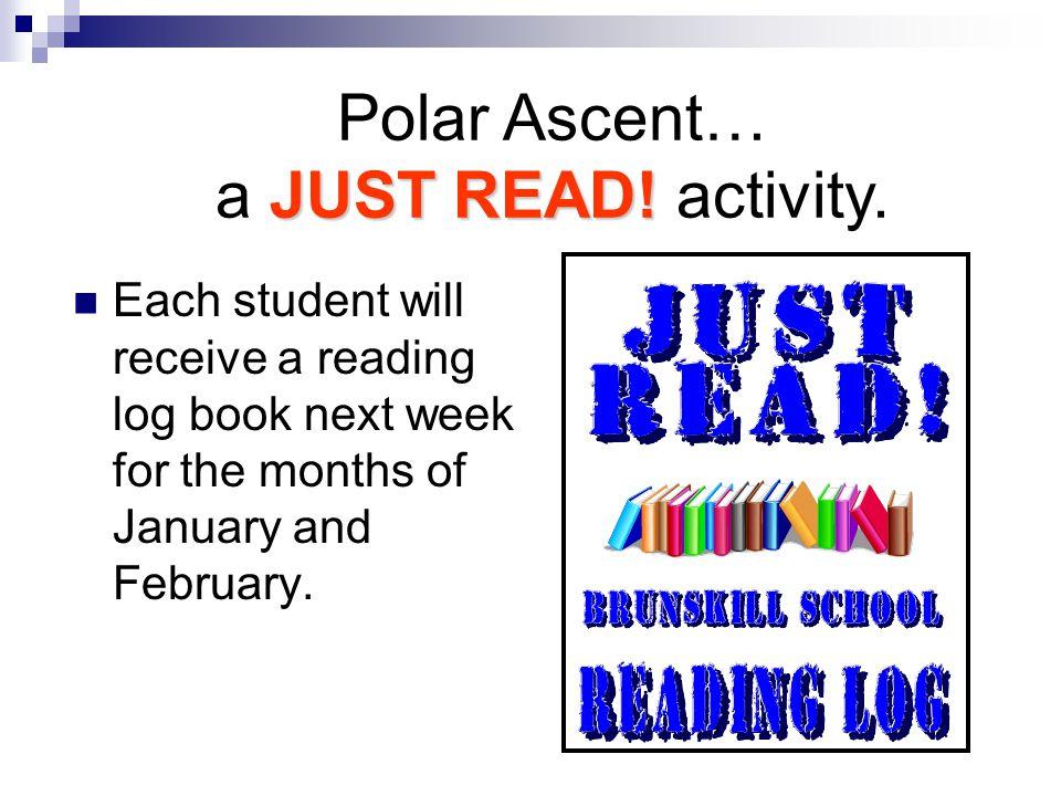 JUST READ. Polar Ascent… a JUST READ. activity.