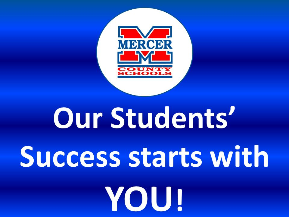 Our Students' Success starts with YOU !