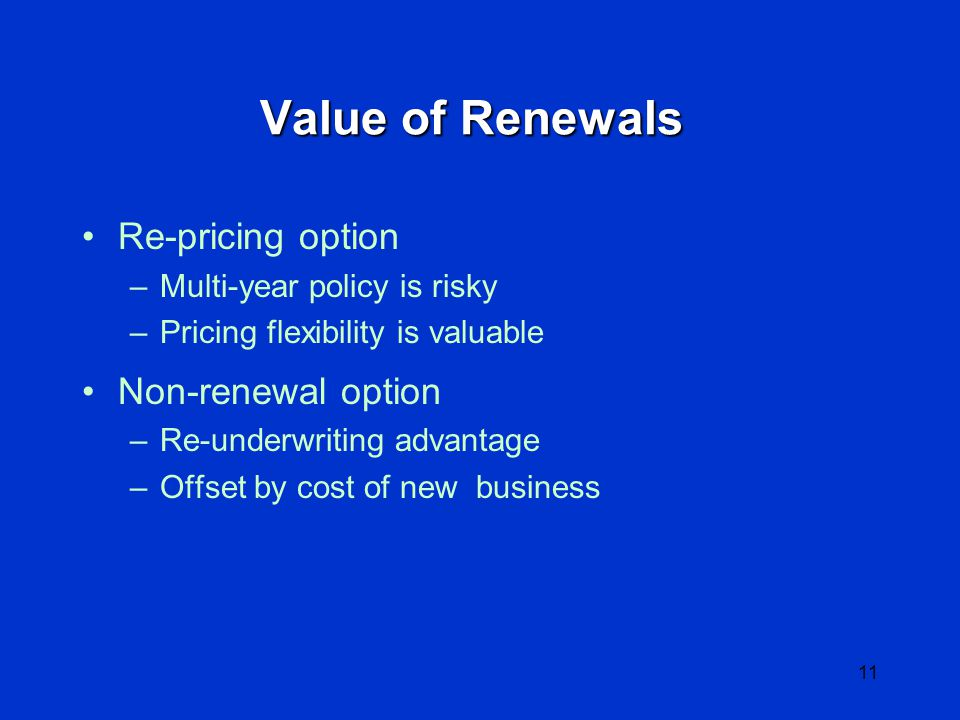 10 Components of Firm Value Company value = market value of equity MVE = MV of (Book Assets - Book Liabilities) + Intangible Assets, or MVE = Tangible Equity + Intangible Assets Intangible (soft) assets = PV of future business Intangible Assets are largely real options