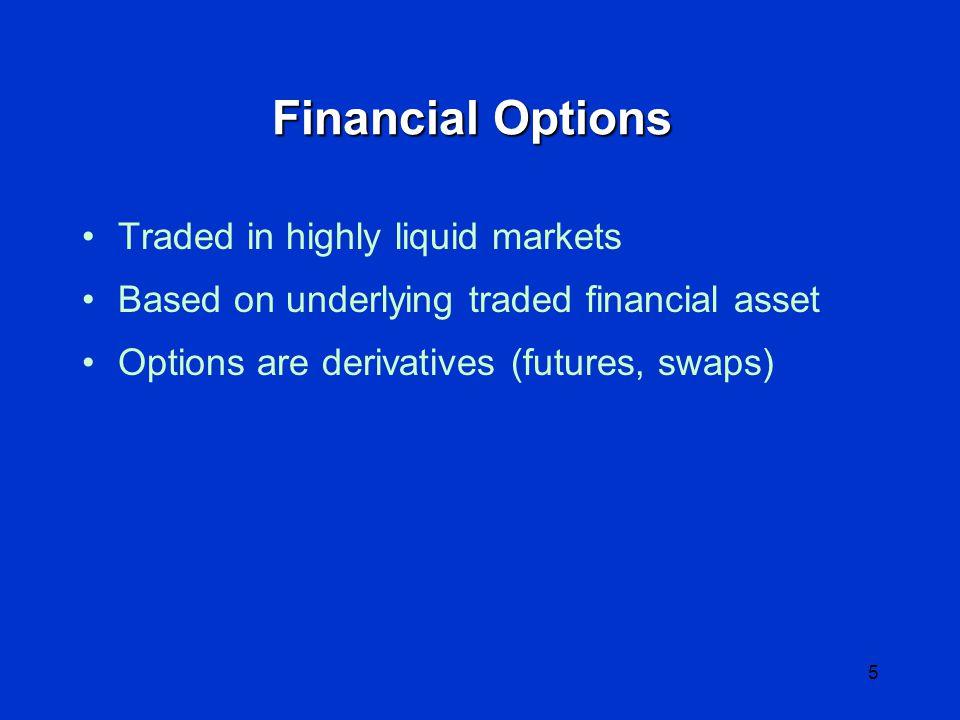 4 Option Asymmetry Value Underlying Asset Value Asset Option
