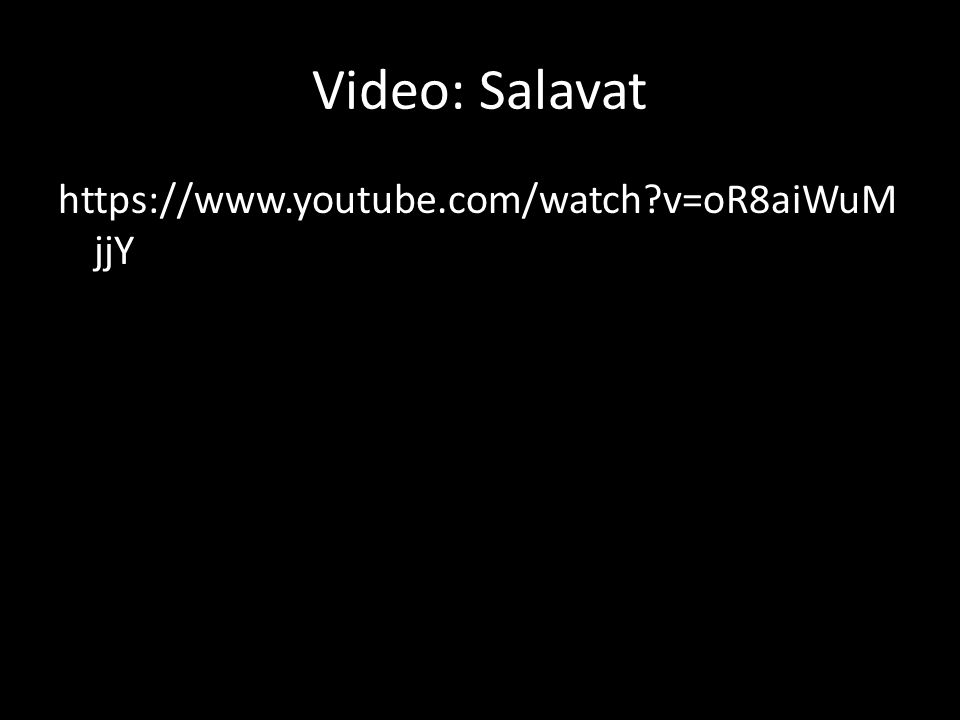 Video: Salavat https://www.youtube.com/watch v=oR8aiWuM jjY