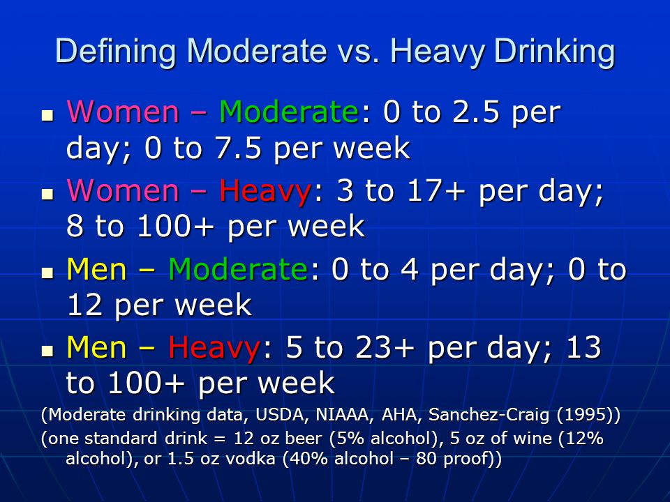 HAMS teaches members that risky drinking levels lie on a continuum