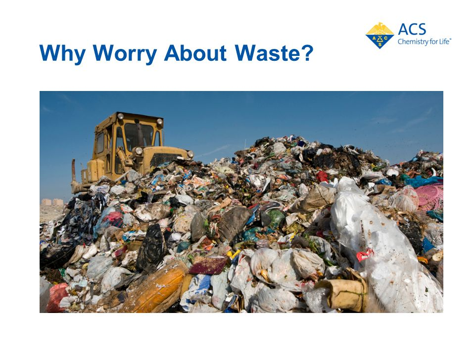 Why Worry About Waste