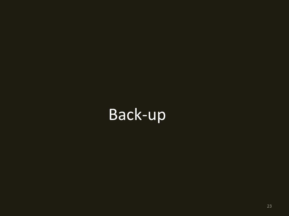 Back-up 23