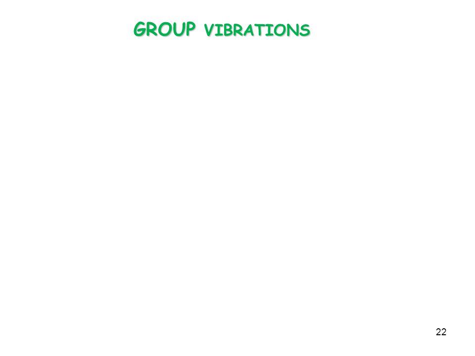 GROUP VIBRATIONS 22
