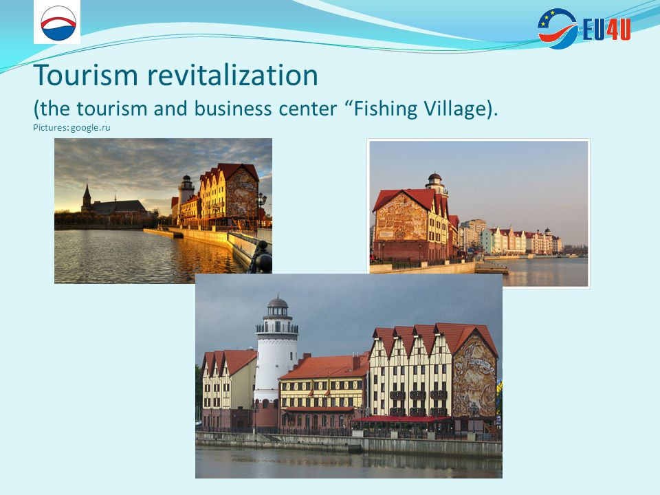 Tourism revitalization (the tourism and business center Fishing Village). Pictures: google.ru