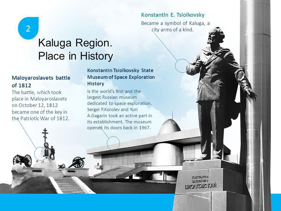 KALUGA REGION: AT THE HEART OF IT ALL.