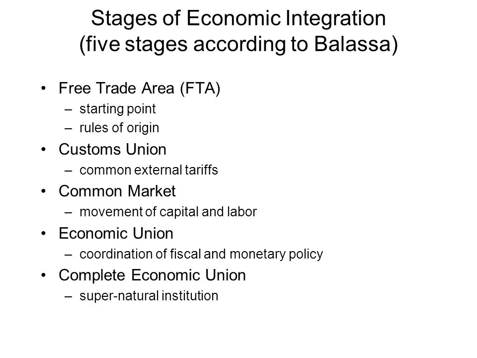 Trade Creation Before: A=100, B=90*1.2=108, C=90*1.2=108 After: A=100, B=90, C=90*1.2=108 20 percent tariff