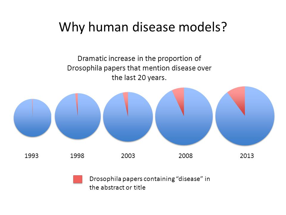 What do we consider to be a disease model.