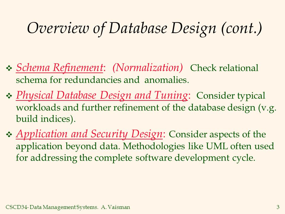 CSCD34- Data Management Systems.A.
